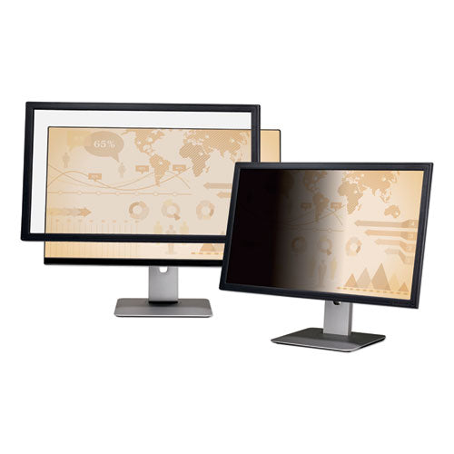 "Framed Desktop Monitor Privacy Filter For 18.5"" Widescreen Lcd, 16:9"