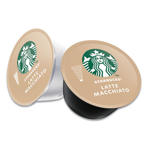 Starbucks Coffee Capsules, Latte Macchiato, 12-box