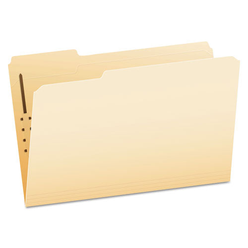 Manila Folders With Two Fasteners, 1-3-cut Tabs, Letter Size, 50-box