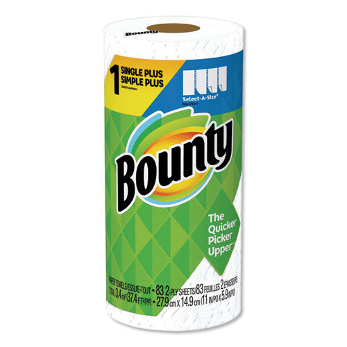 Select-a-size Paper Towels, 2-ply, White, 5.9 X 11, 83 Sheets-roll, 8 Rolls-ct
