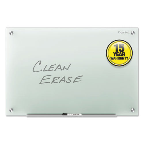 Infinity Glass Marker Board, Frosted, 96 X 48