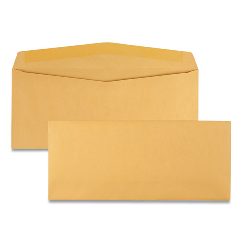 Kraft Envelope, #12, Commercial Flap, Gummed Closure, 4.75 X 11, Brown Kraft, 500-box
