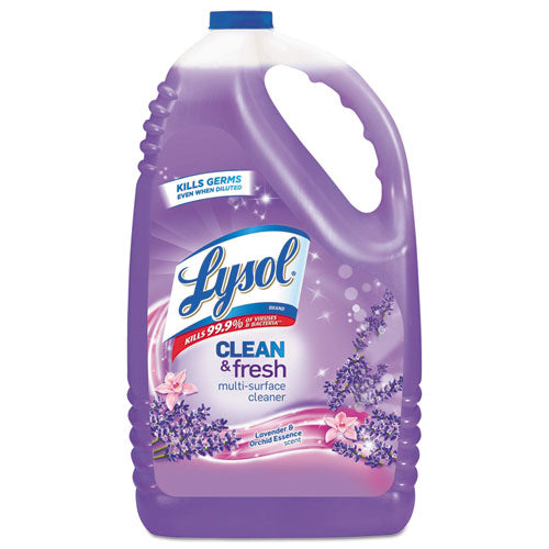 Clean And Fresh Multi-surface Cleaner, Lavender And Orchid Essence, 144 Oz Bottle, 4-carton