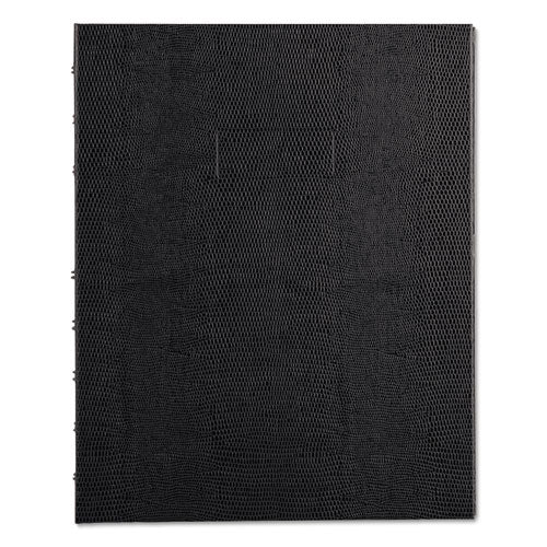 Miraclebind Notebook, 1 Subject, Medium-college Rule, Black Cover, 11 X 9.06, 75 Sheets