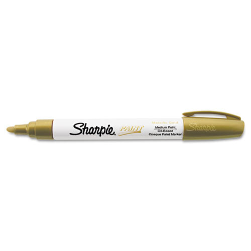 Permanent Paint Marker, Medium Bullet Tip, Green