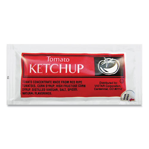 Condiment Packets, Mustard, 0.16 Oz Packet, 200-carton