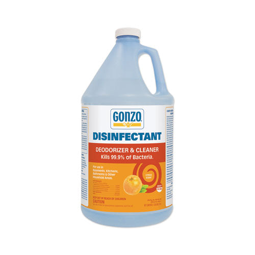 Disinfectant Deodorizer And Cleaner, Citrus Scent, 24 Oz Spray Bottle, 6-carton