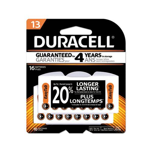 Hearing Aid Battery, #13, 16-pack