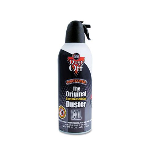 Disposable Compressed Air Duster, 12 Oz Can