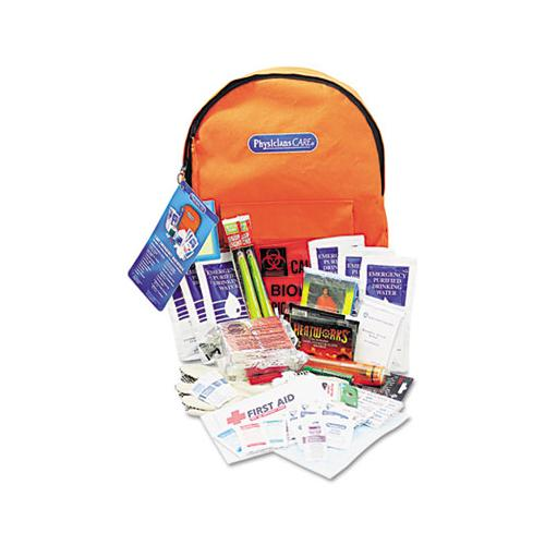 Emergency Preparedness First Aid Backpack, 63 Pieces-kit