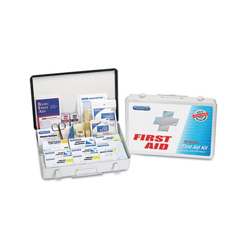 First Aid Kit For Up To 75 People, Metal, 419 Pieces-kit