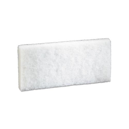 "Doodlebug Scrub Pad, 4.6"" X 10"", White, 5-pack, 4 Packs-carton"
