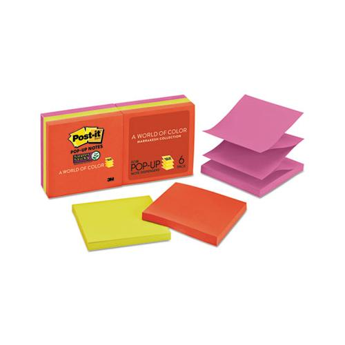 Pop-up 3 X 3 Note Refill, Marrakesh, 90 Notes-pad, 6 Pads-pack