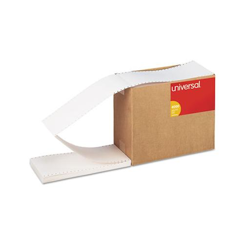 Continuous Unruled Index Cards, 3 X 5, White, 4,000-carton