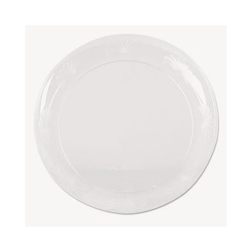 Plate,plastic,10.25,clear