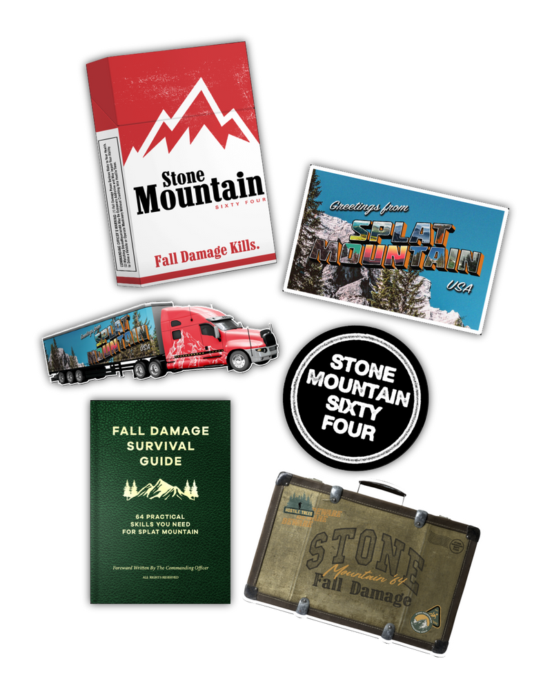StoneMountain64 Fall Damage 6 pack (Pre-Order)