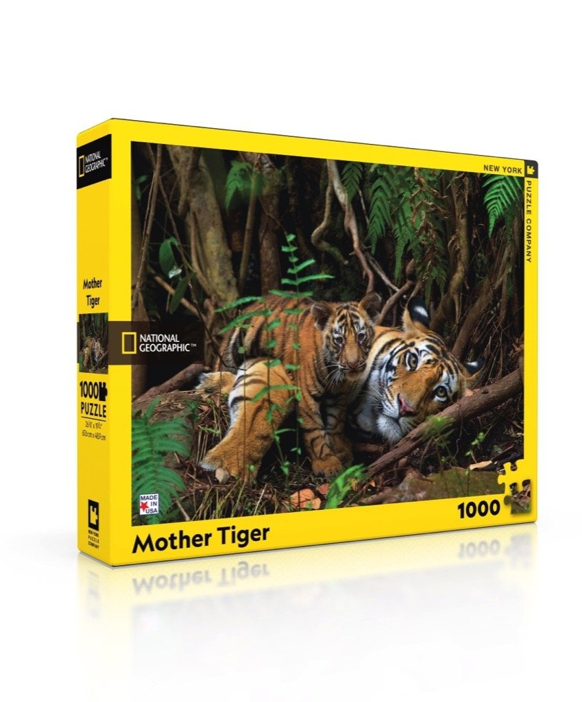 Mother Tiger - Rompecabezas 1000 piezas