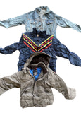 Vintage Mix Branded Boys, Kids , Youth Clothing 45kg Bale
