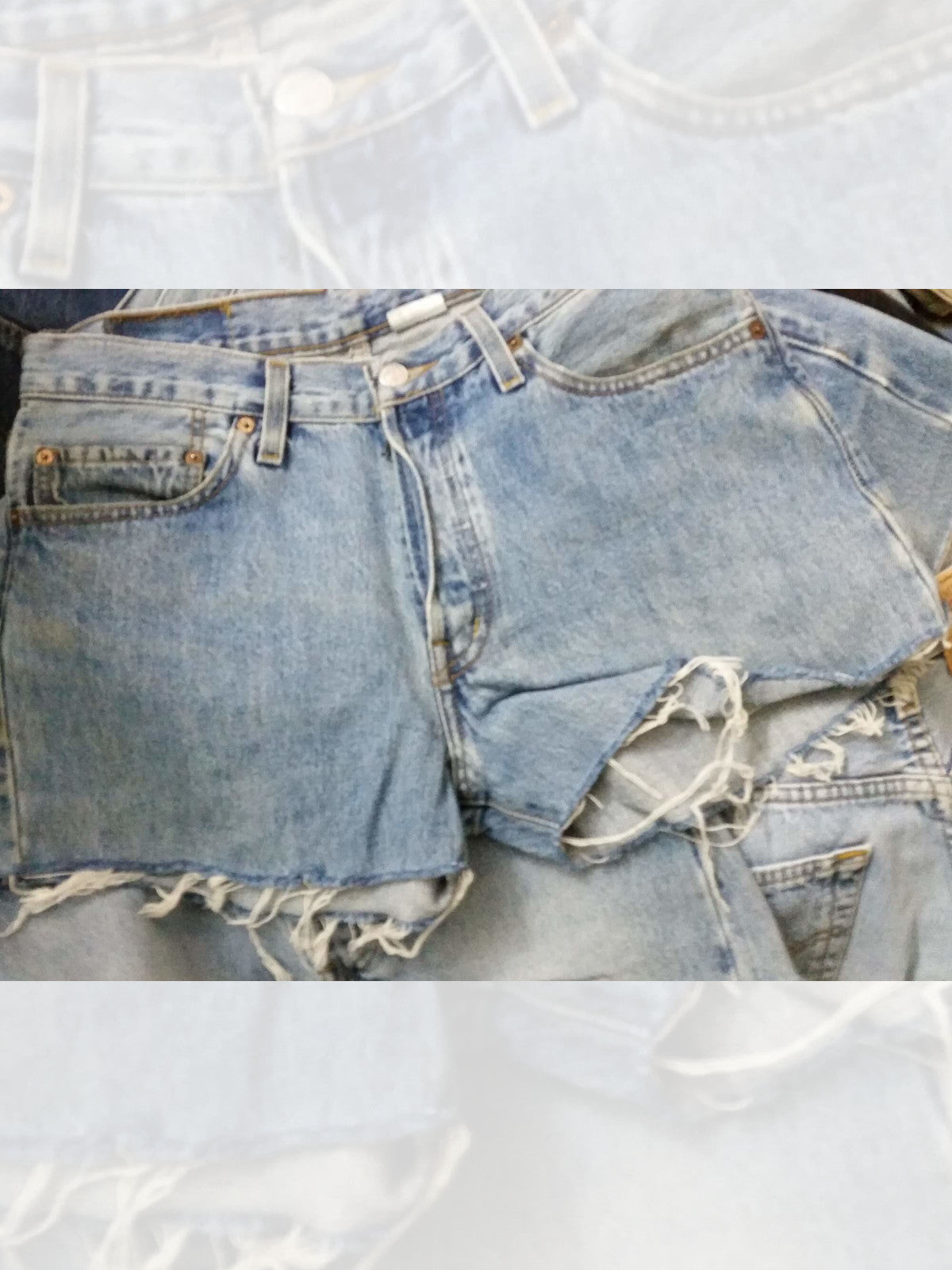 Vintage Levis 501 Highwaisted Shorts