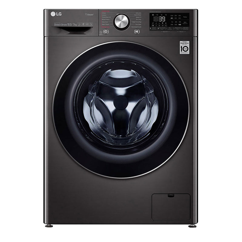 LG Washing Machine 7KG 1400RPM Glass Door