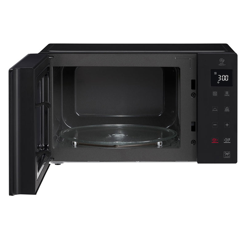 Microwave oven 25L, Smart Inverter, Even Heating and Easy Clean, Black color