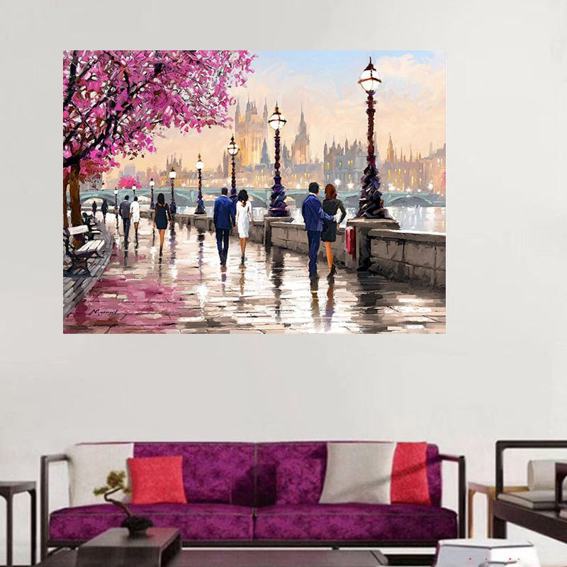 Paris street  Canvas Painting
