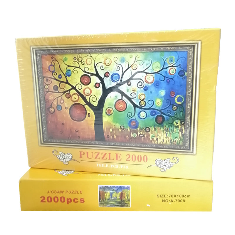 Bubbles Tree 2000 Pcs 70x100cm