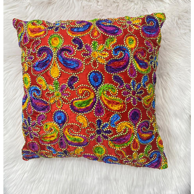 Cushion covers Beaded embroidered