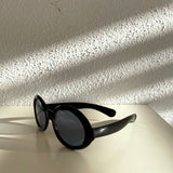 Europe old sunglasses Black
