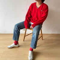 70s Lacoste relaxed Red , France