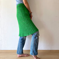Hand made crochet skirt