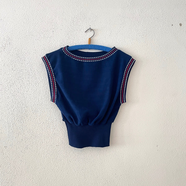 Vintage Germany summer top , Dead stock