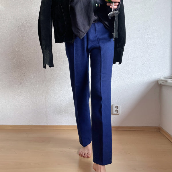 70's navy wool lady from UK