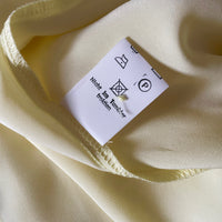 Big pleated collar, Swiss made