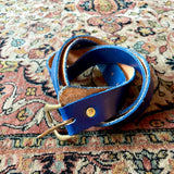 vintage leather nave belt