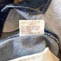 Vintage Levi's denim overalls , Made in France