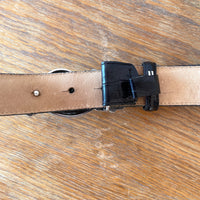 1995's BRIGHTON leather belt