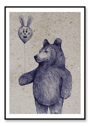Balloon Bear - poster