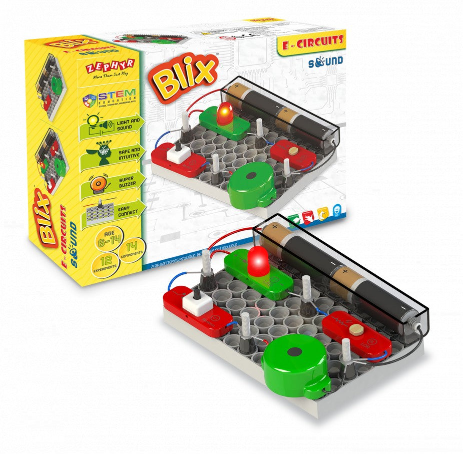 Experiment with Sound – Electronics Project Kit for kids