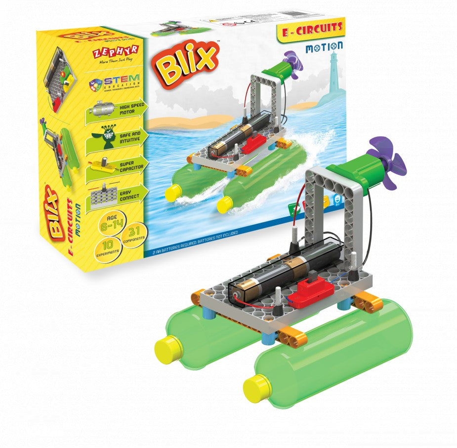Experiment with Motion – Electronics Project Kit for Kids