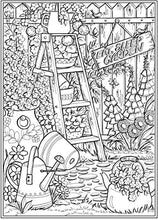 Lade das Bild in den Galerie-Viewer, Creative Haven Country Gardens Coloring Book