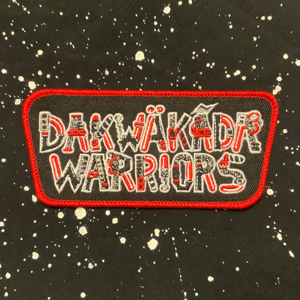"Dakwäkãda Warriors 4.5"" Embroidered Patch"