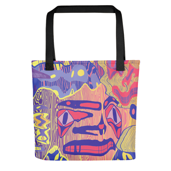 Kwätl'ų (Mirage) tote bag