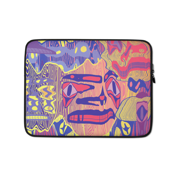 Kwätl'ų (Mirage) Laptop Sleeve