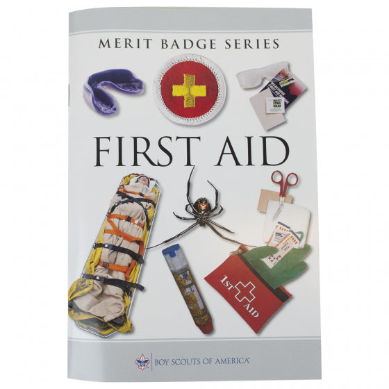 First Aid Merit Badge Pamphlet
