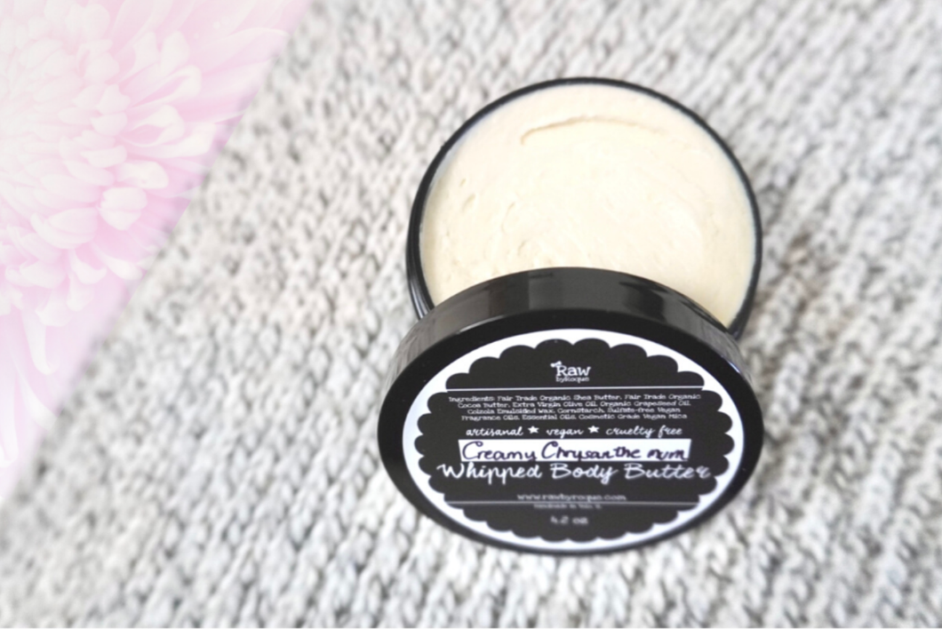 Creamy Chrysanthemum Whipped Body Butter - Raw ByRoque