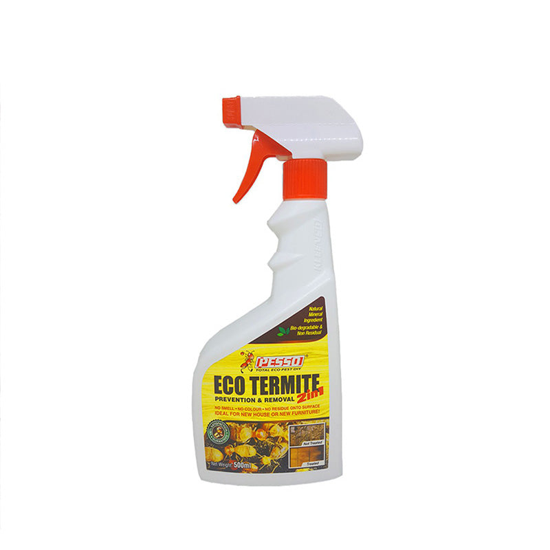Pesso 2 in 1 Eco Termite Spray Prevention and Removal (500ml)
