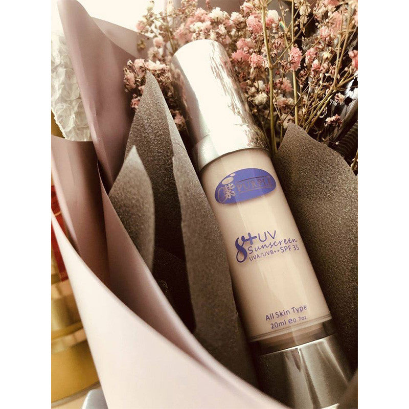 Purple Secrets 防嗮素颜霜 8+ UV Sunscreen SPF 35 UVA/UVB++
