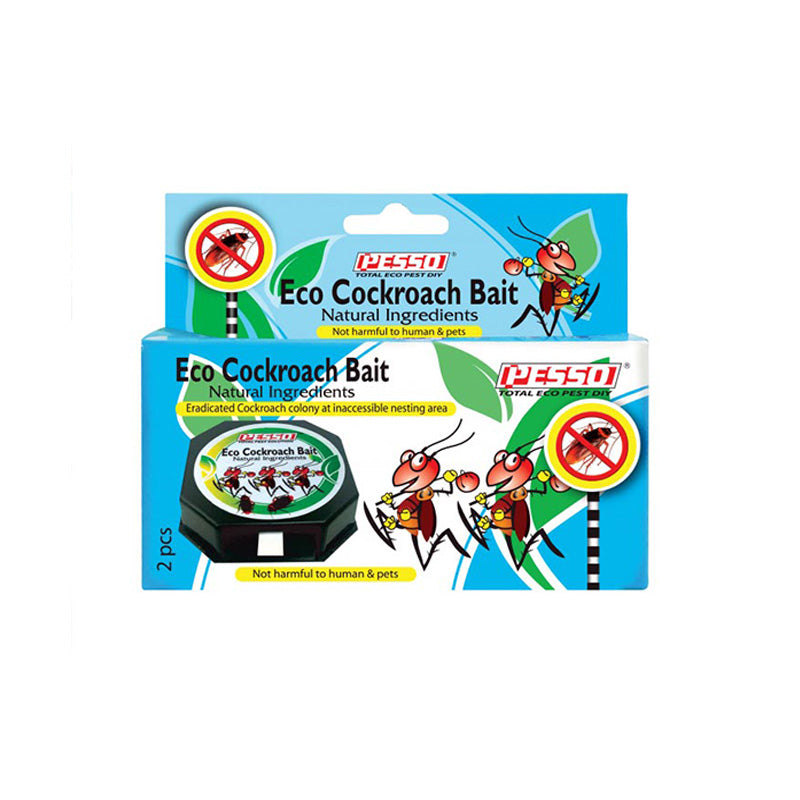 Pesso Eco Cockroach Bait 2pcs (Cockroach Repellent)
