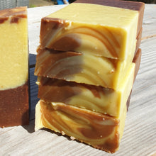 Load image into Gallery viewer, Chocolate Orange Oaty Goats Milk Soap 1
